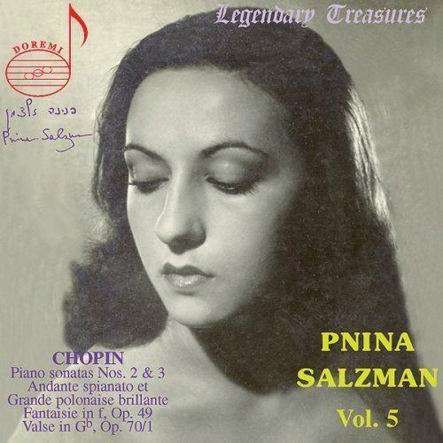 Pnina Salzman Pnina Salzman Piano Short Biography