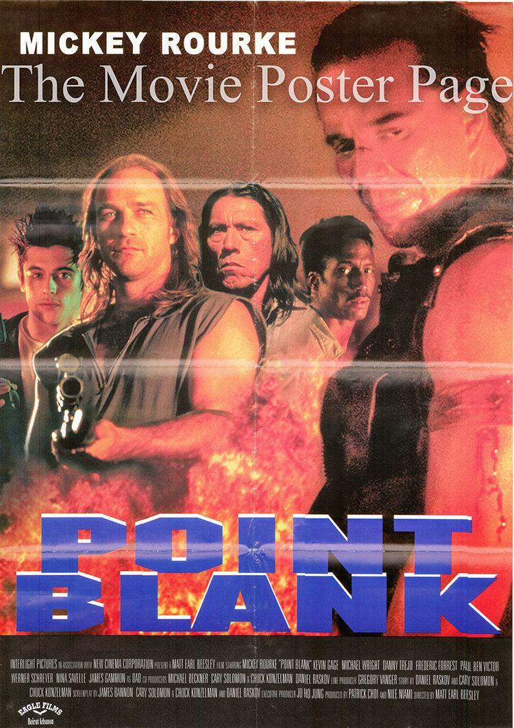 Point Blank (1998 film) Point Blank 1998 Mickey Rourke Lebanese film poster FNM 25