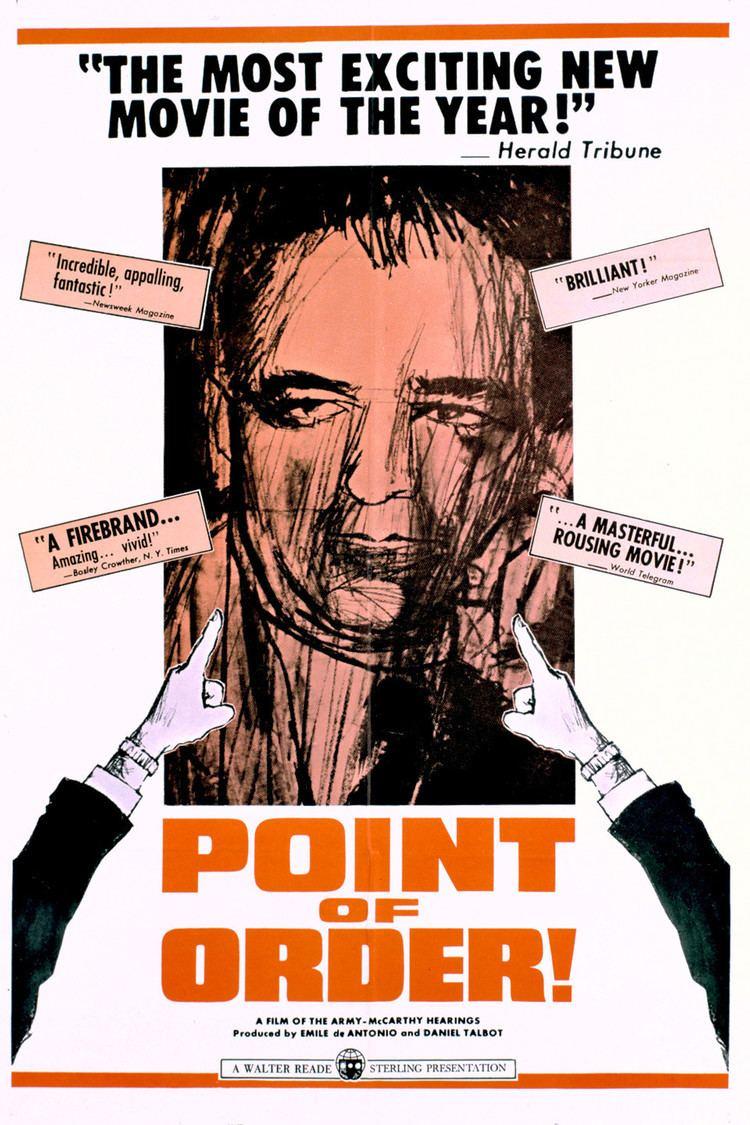 Point of Order (film) wwwgstaticcomtvthumbmovieposters22024p22024