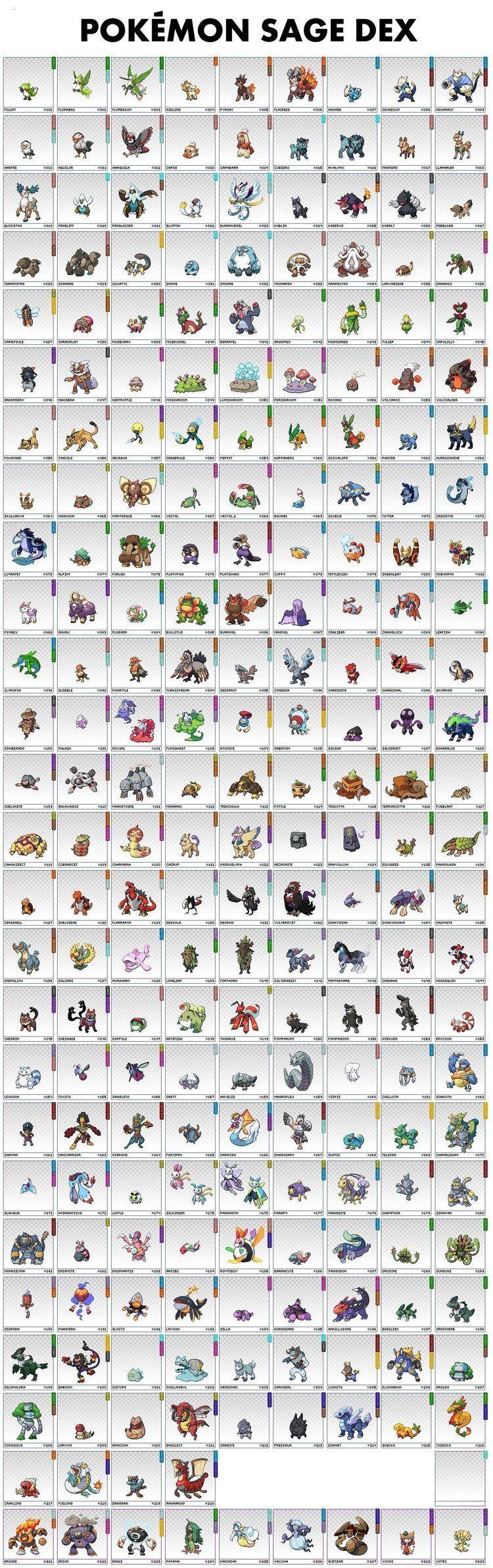 pokemon sage full game