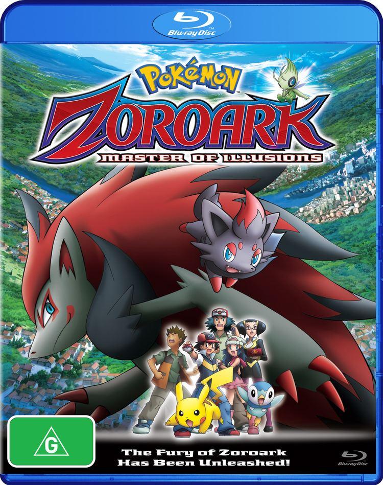 Pokémon: Zoroark: Master of Illusions Pokemon Zoroark Master of Illusion Bluray Disc AsianBlurayGuidecom