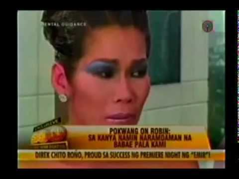Pokwang Pokwang asked Robin Padilla to get back in noontime show YouTube