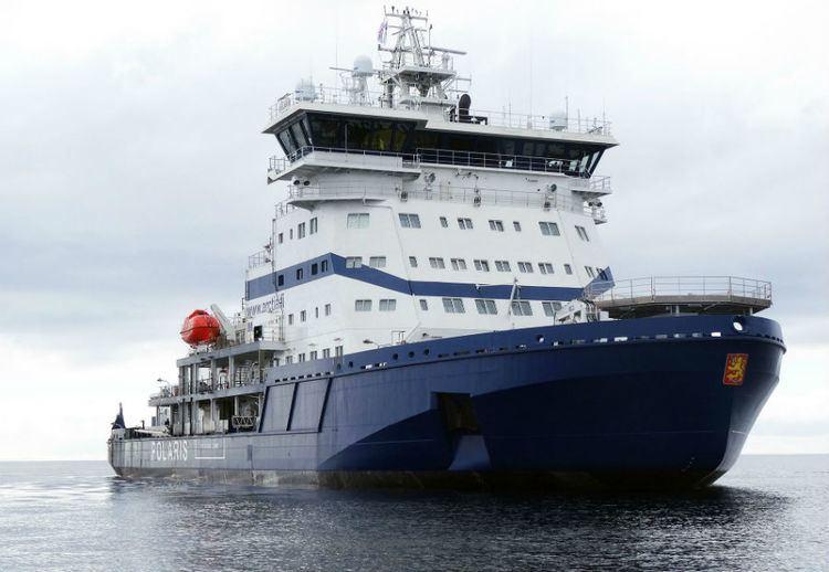 Polaris (icebreaker) Polaris LNG icebreaker breaking new ground Ship Technology
