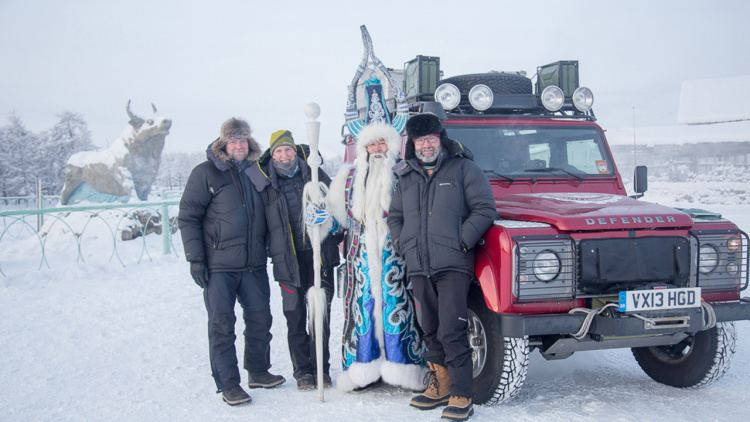 Pole of Cold Land Rover drives Defender to the Pole of Cold Autoblog