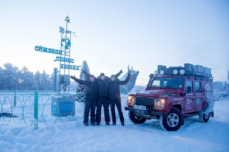 Pole of Cold Royal Geographic Society Explores quotPole of Coldquot in Land Rover