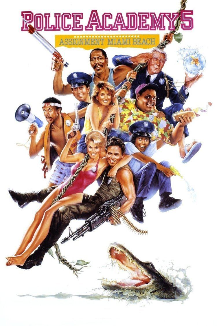 Police Academy 5: Assignment Miami Beach wwwgstaticcomtvthumbmovieposters10686p10686