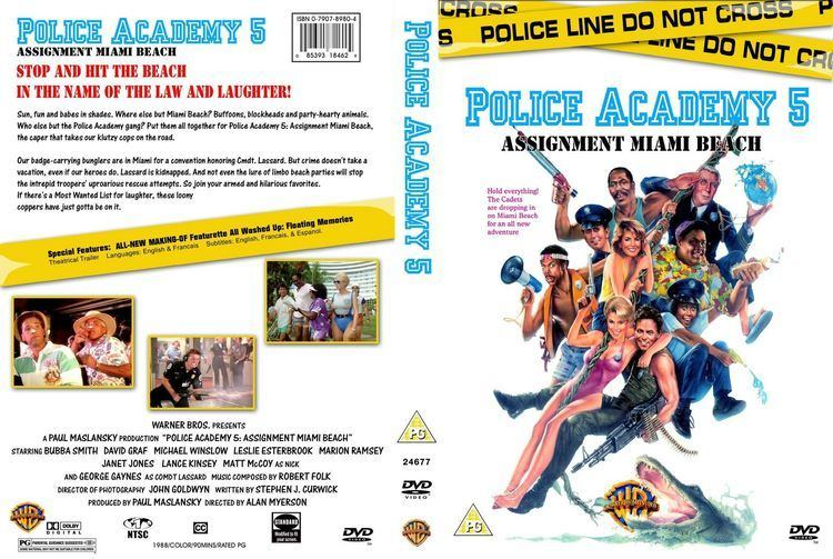 Police Academy 5: Assignment Miami Beach Police Academy 5 Assignment Miami Beach Filmhantering