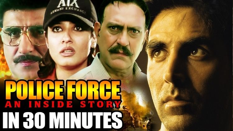 Police Force in 30 Minutes Akshay Kumar Raveena Tandon Amrish