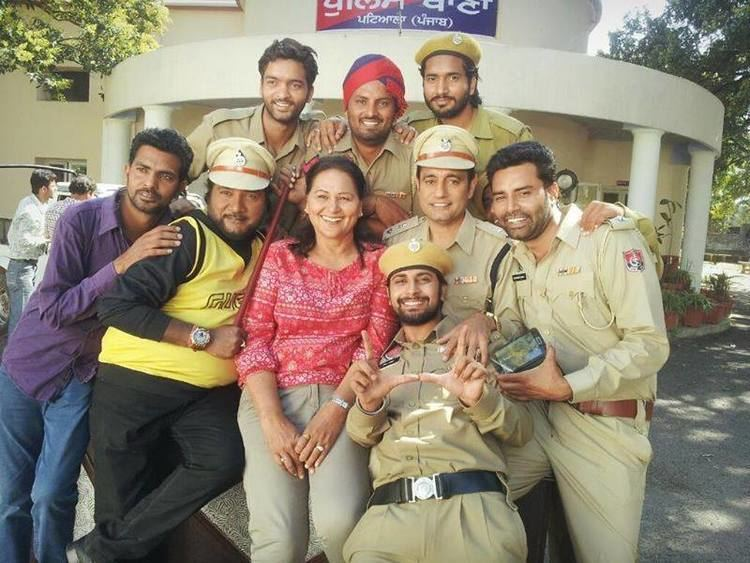 Police in Pollywood Police In Pollywood Bhagwant Mann Upcoming Movie
