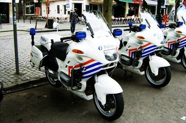 Police Vehicles in Belgium