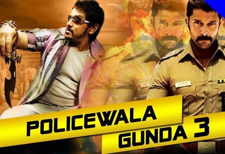 Policewala Gunda 3 Saamy 375MB WebHD 480P Hindi Dub
