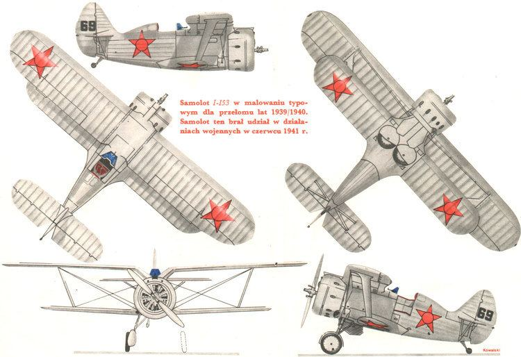 Polikarpov I-153 Polikarpov I153 Minecraft Project