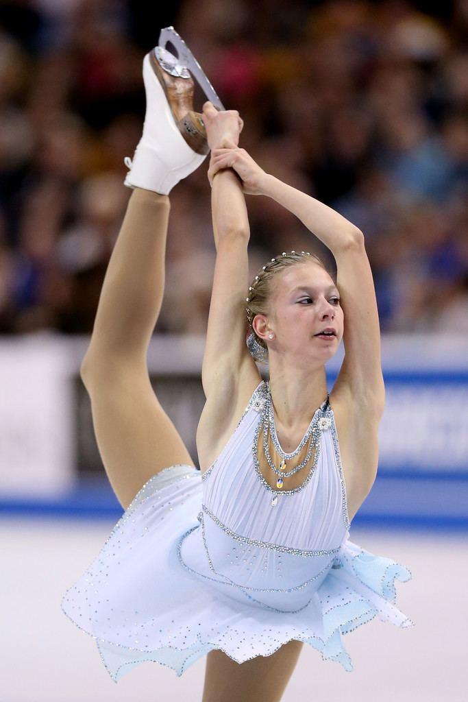 Polina Edmunds Meet Polina Edmunds US Olympic Figure Skating Hopeful