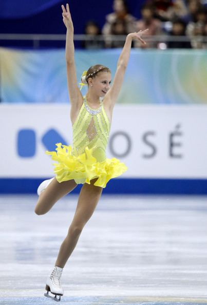 Polina Edmunds Polina Edmunds Photos ISU Grand Prix of Figure Skating