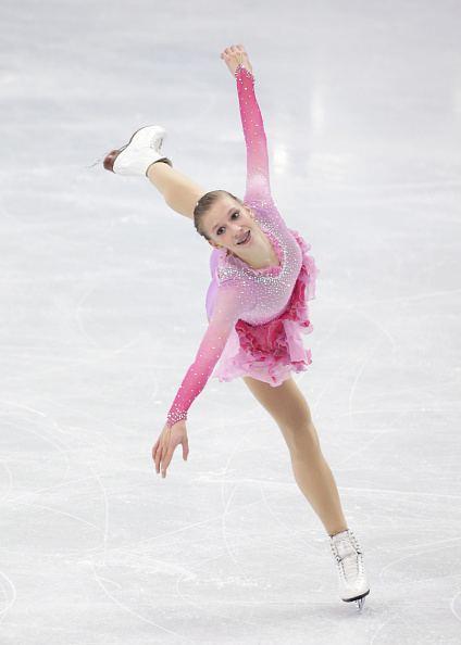 Polina Edmunds Polina Edmunds rises to her biggest win Gracie Gold drops