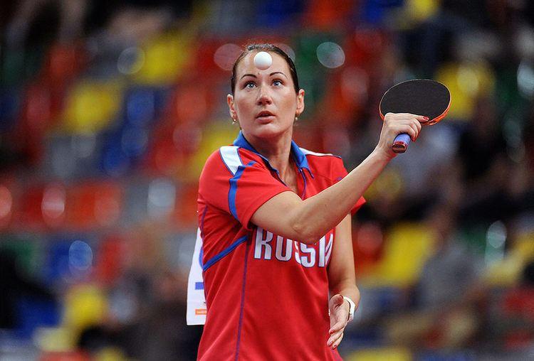 Polina Mikhailova MIKHAILOVA Polina Modern defender OOAK Table Tennis Forum