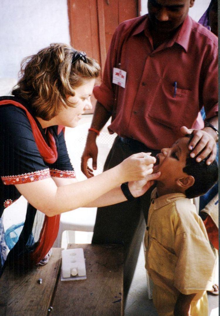 Poliomyelitis eradication