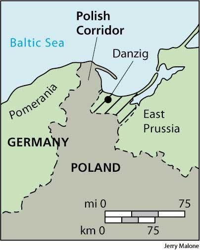 Polish Corridor Polish Corridor dictionary definition Polish Corridor defined