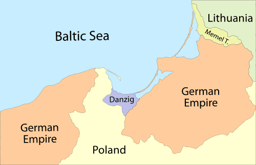Polish Corridor Britain Guarantees Poland39s Independence March 31 1939 World War