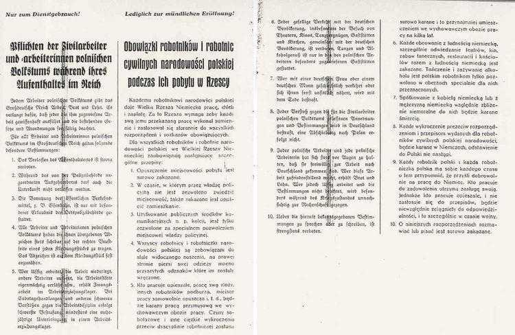 Polish decrees