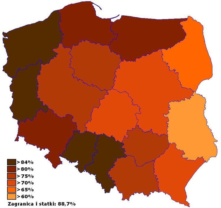 Polish European Union membership referendum, 2003