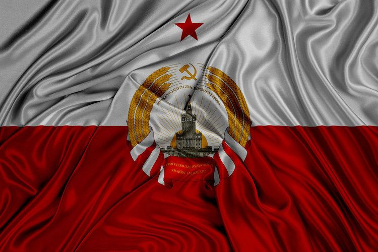 Polish People's Republic Flag of the Polish Socialist People39s Republic by kriss80858 on