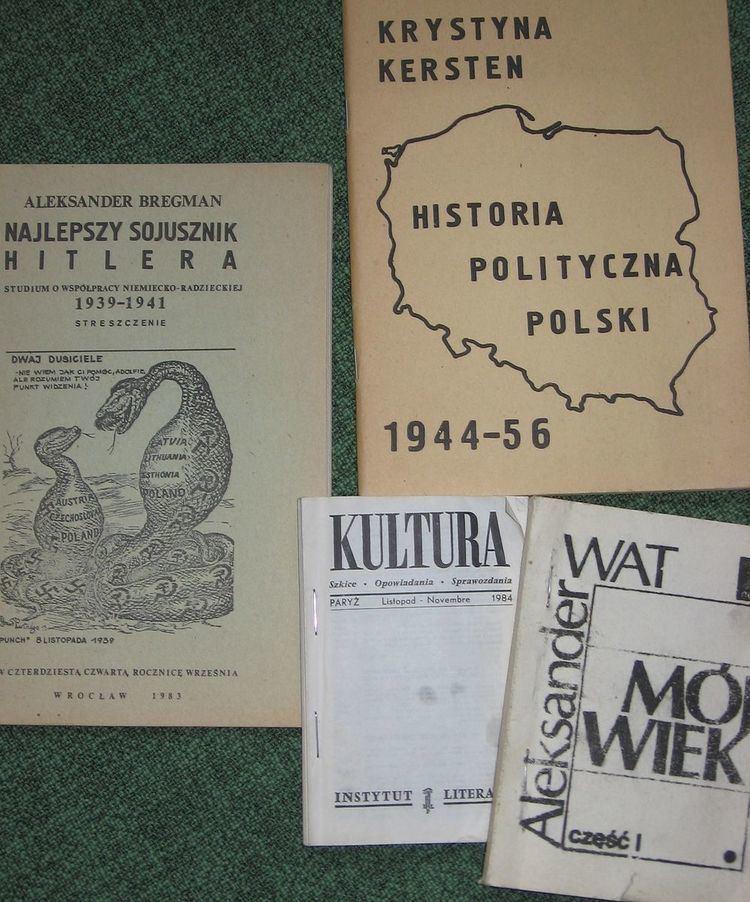 Polish underground press