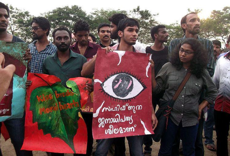 Political activism in Kerala