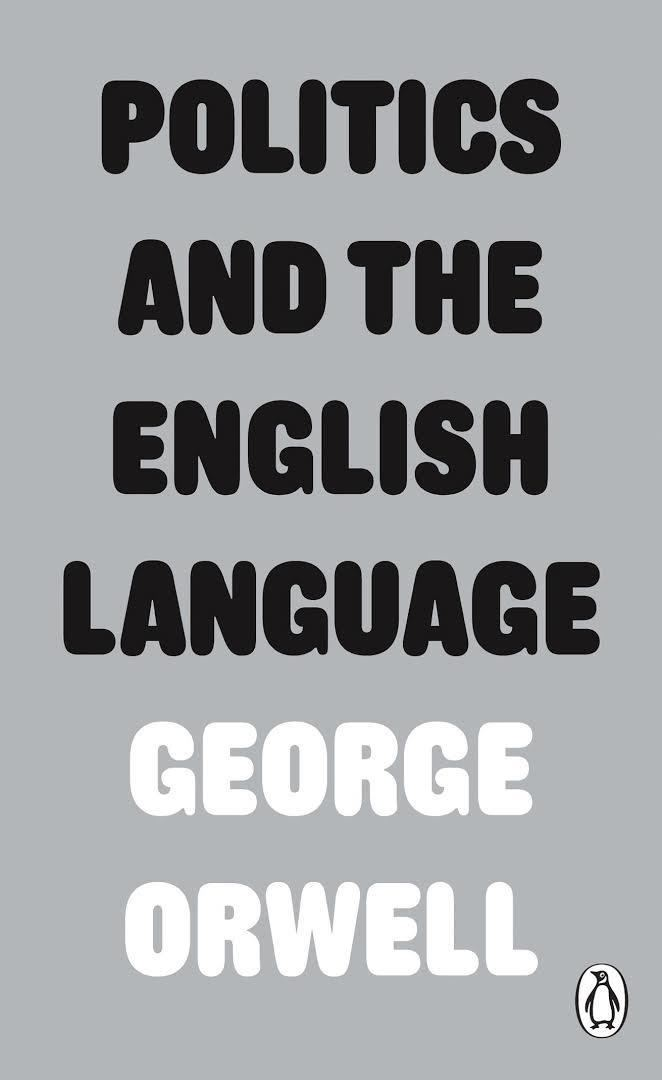 Politics and the English Language t2gstaticcomimagesqtbnANd9GcQDsdeX2ukeRXyZ8