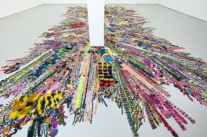 Polly Apfelbaum Polly Apfelbaum Flatterland Funkytown Exhibitions D