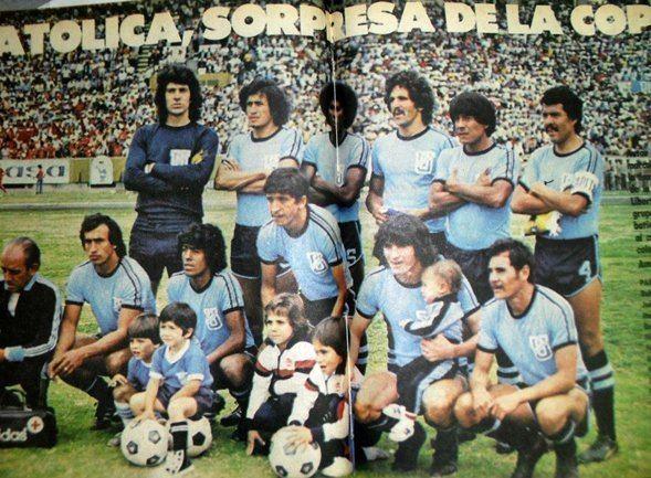 Polo Carrera Antonio Ubilla on Twitter 23 marzo 1980Quito Copa U Catlica 5