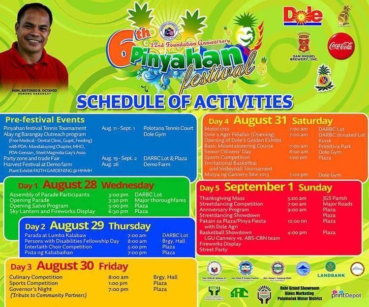 Polomolok, South Cotabato Festival of Polomolok, South Cotabato