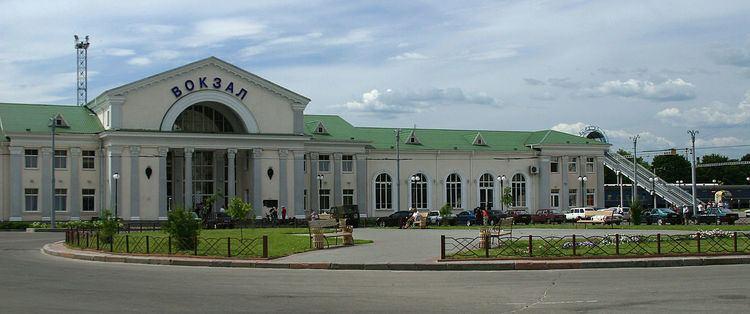Poltava Kyivska Railway station