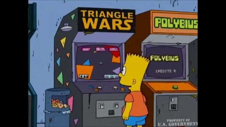 Polybius Simpsons39 Polybius Placement YouTube