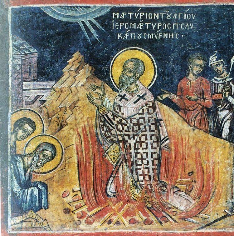 Polycarp Saint Polycarp Bishop of Smyrna OMHKSEA