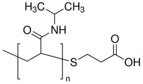 Poly(N-isopropylacrylamide) PolyNisopropylacrylamide carboxylic acid terminated average Mn