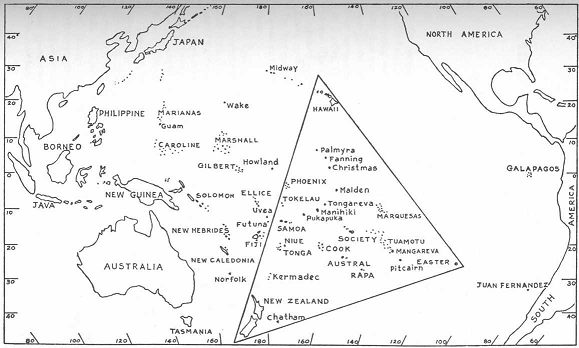 Polynesian Triangle Vedic Cafe THE POLYNESIAN TRIANGLE HAWAII NEW ZEALAND EASTER