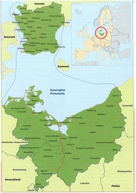 Pomerania Euroregion Historia Pomerania