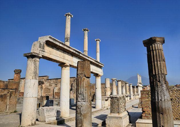 Pompeii Tourist places in Pompeii