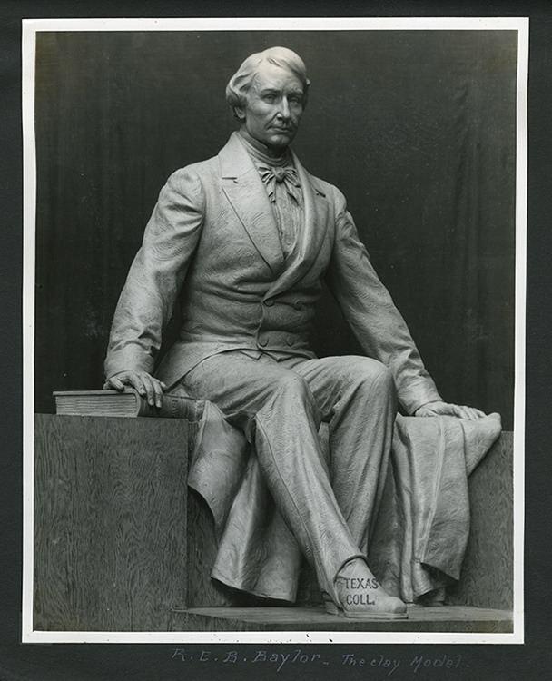 Pompeo Coppini Judge REB Baylor Statue Baylor University Pompeo