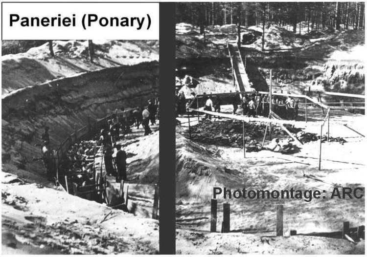 Ponary massacre Ponary