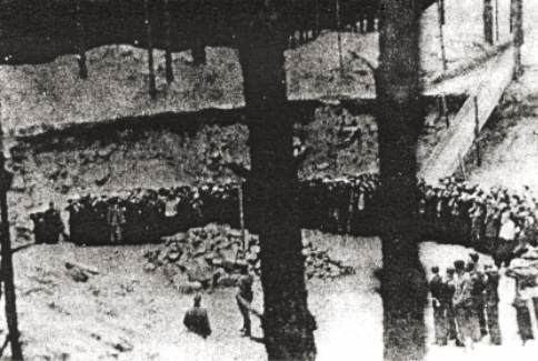 Ponary massacre Ponary The Vilna Killing Site wwwHolocaustResearchProjectorg