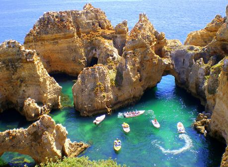 Ponta da Piedade Ponta da Piedade top attraction Lagos Portugal