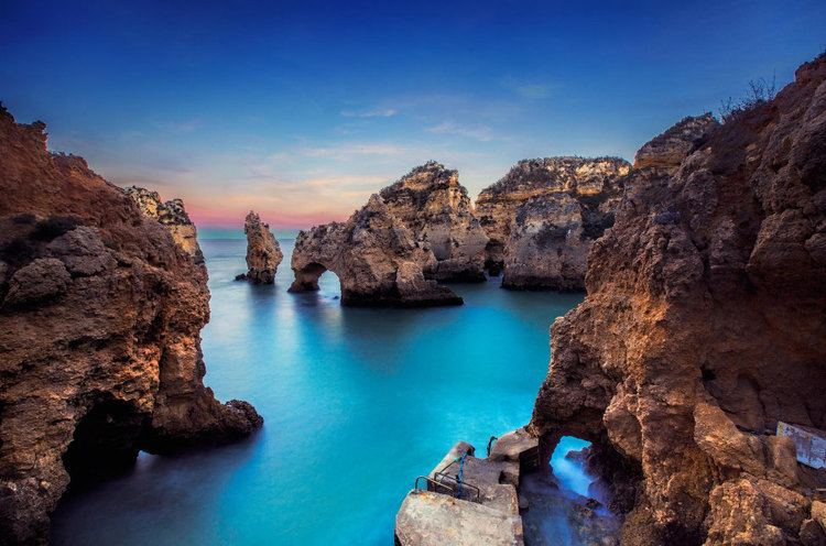 Ponta da Piedade Ponta Da Piedade the Southernmost Striking Beach in Portugal