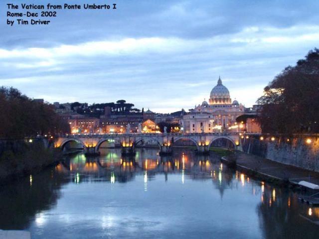 Ponte Umberto I The Vatican from Ponte Umberto I NEN Gallery