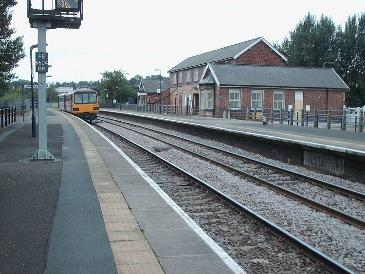Pontefract Baghill railway station