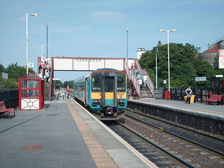 Pontefract Monkhill railway station