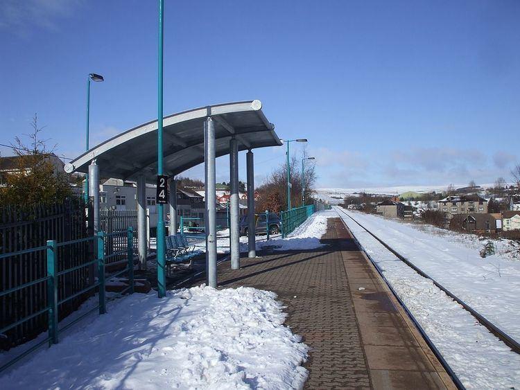 Pontlottyn railway station