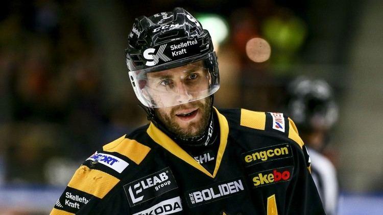 Pontus Petterström Pontus Petterstrm blir ny lagkapten fr Skellefte AIKHockeysverige