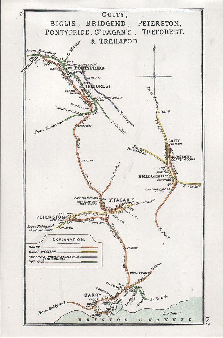 Pontypridd Graig railway station
